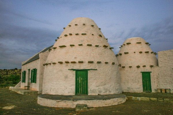 Picture of South African Karoo corbelled house