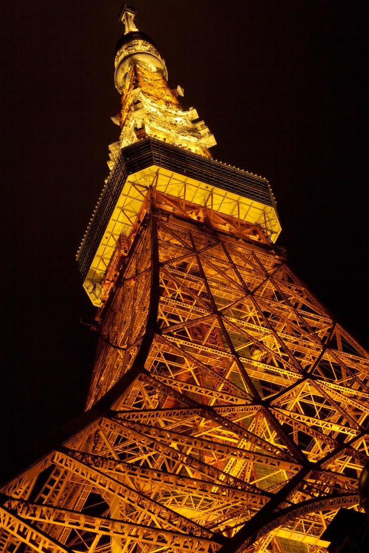 東京タワー 写真  tokyo tower pictures  ISO200 50mm F16 0.5秒  カール ツァイス Carl Zeiss Makro-Planar T*2/50mm ZE   キャノン Canon EOS 5D Mark II  UN UNP-5626 クランプ雲台使用