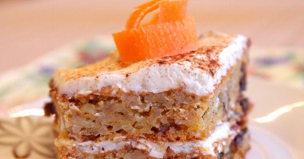 Пирог из моркови Яркий и полезный пирог из моркови по предлагаемому рецепту – отличный пример сочетания моркови, творога и овсяных хлопьев. #морковныйпирог #пирогизморкови
