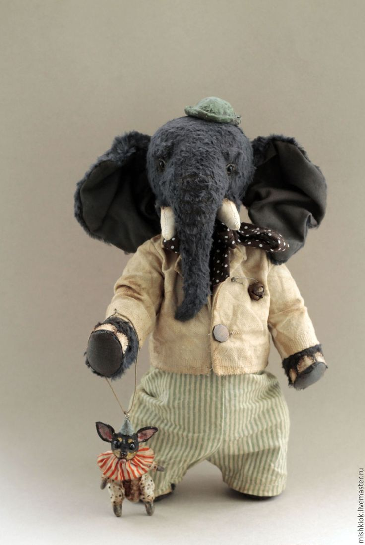 По улицам Слона водили... - слон, слон и моська, слон тедди, слон игрушка