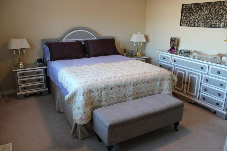 De slaapkamer onder handen genomen door andrea chalk paint van annie sloan voorbeelden - Verf haar woonkamer ...