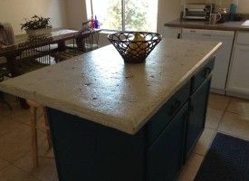 Refinish Your Old Countertop with a Concrete Overlay Countertop - DCI