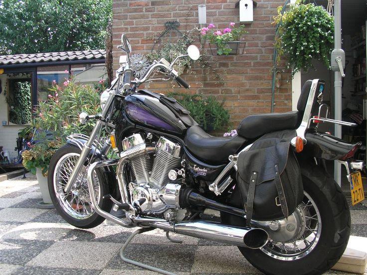 Onze motor 23 jaar mee gereden en nu verkocht na lang aarzelen met veel pijn en moeite.