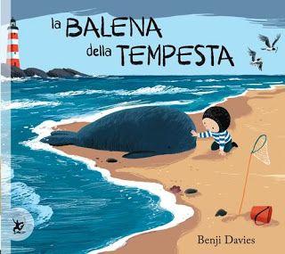 """Una nuova proposta per le vostre letture ad alta voce: """"La balena della tempesta"""", B. Davies, EDT-Giralangolo, 2015. Davanti a quel blu immenso Nico si sente solo finché, finalmente, lo stesso mare gli regala un'amica. Il bambino si illude di poter trascorrere le sue giornate in compagnia della balena. http://www.vitazerotre.com/2015/06/la-balena-della-tempesta-b-davies-edt.html"""