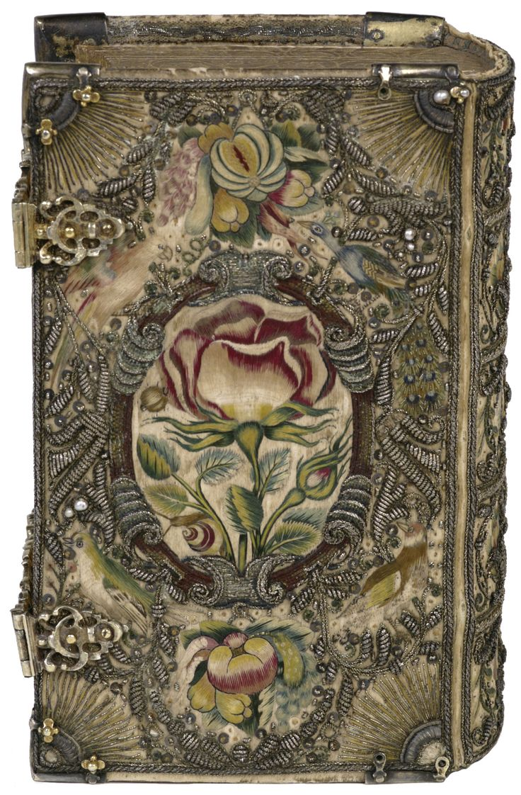 Band van witte zijde -1615-1620 - KB the Hague