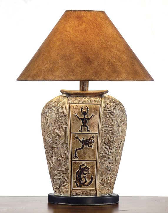 southwest table lamps | Southwestern Lamps, Southwest Style Table Lamps