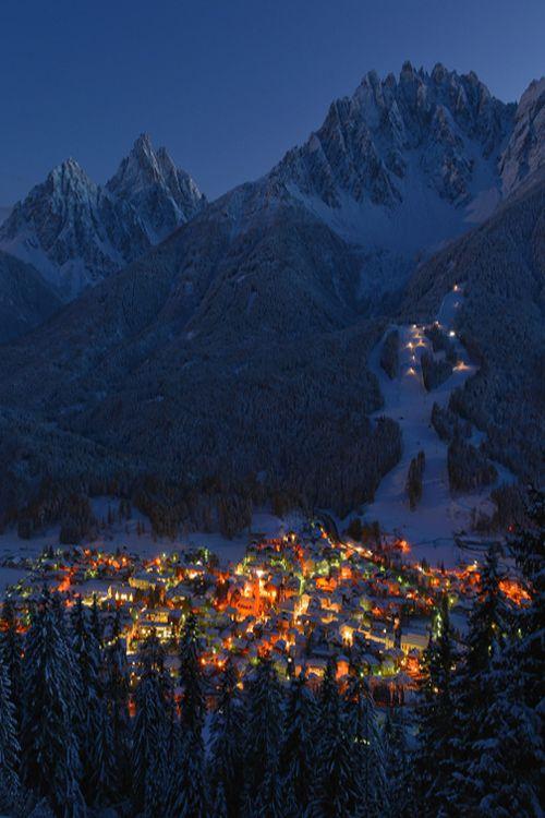 Innichen / San Candido in the Evening   Hans-Joachim Kaiser