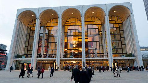 New York, USA. Metropolitan Opera
