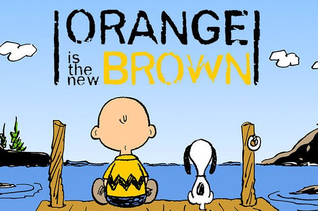 "19 Quotes From ""Orange Is The New Black"" As ""Peanuts"" Comic Strips"