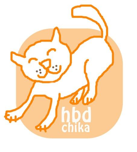 hbd chika