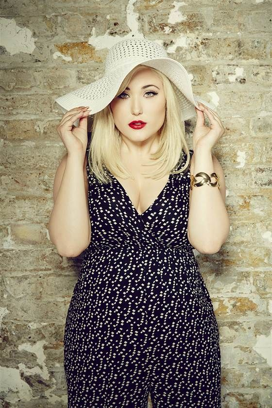 """I've been a 'plus-size' model since I was 14,"" Hayley Hasselhoff said. ""I only look at the word with love and light."""