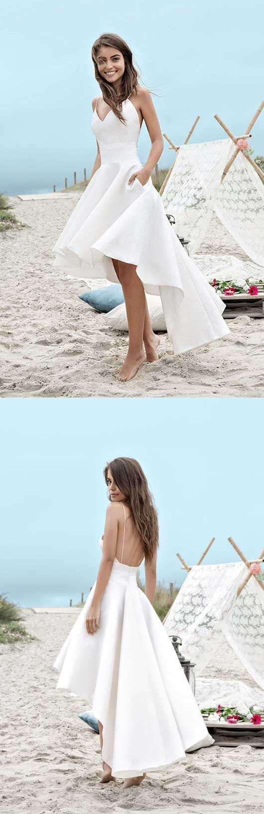 338 best Beach dresses images on Pinterest | Short wedding gowns ...