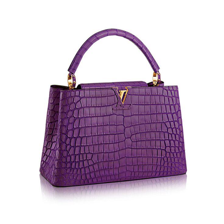 Louis Vuitton Capucines bag www.bagvibes.com