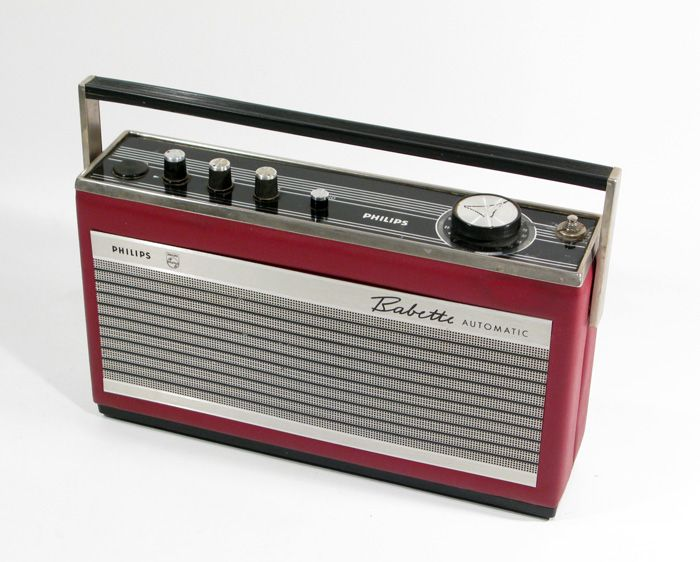 images of 1960s transistor radios | Philips Babette Automatic FM transistor radio from the late 1960's ...