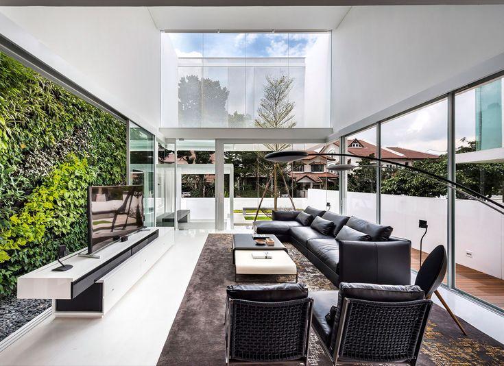 Greja house by park associates house interior designarchitecture