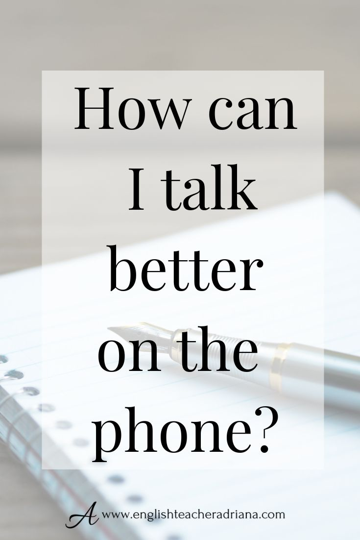 Frequent English Phrases for Telephone Conversations