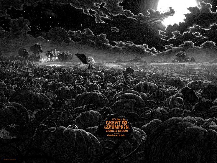 It's the Great Pumpkin Charlie Brown by Nicolas Delort