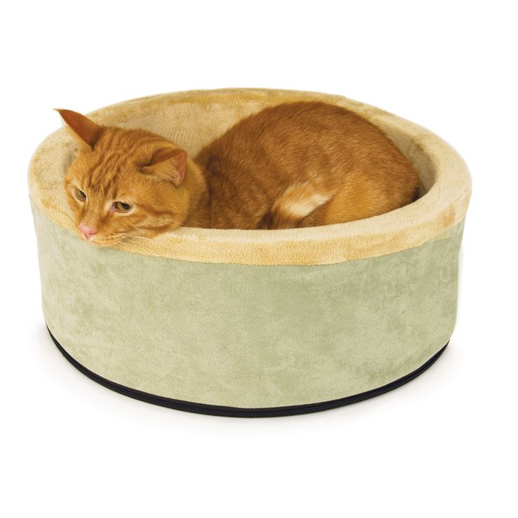 K&H Thermo-Kitty Heated Cat Bed - $21.30! (reg. $67.99)