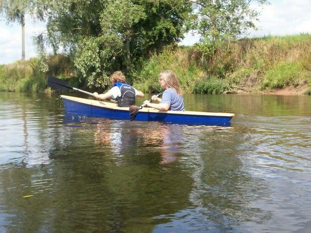 cheap canoe build