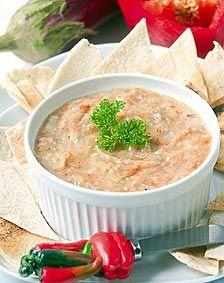 Tarato (crema para untar de berenjena y pimentón) - Recetas