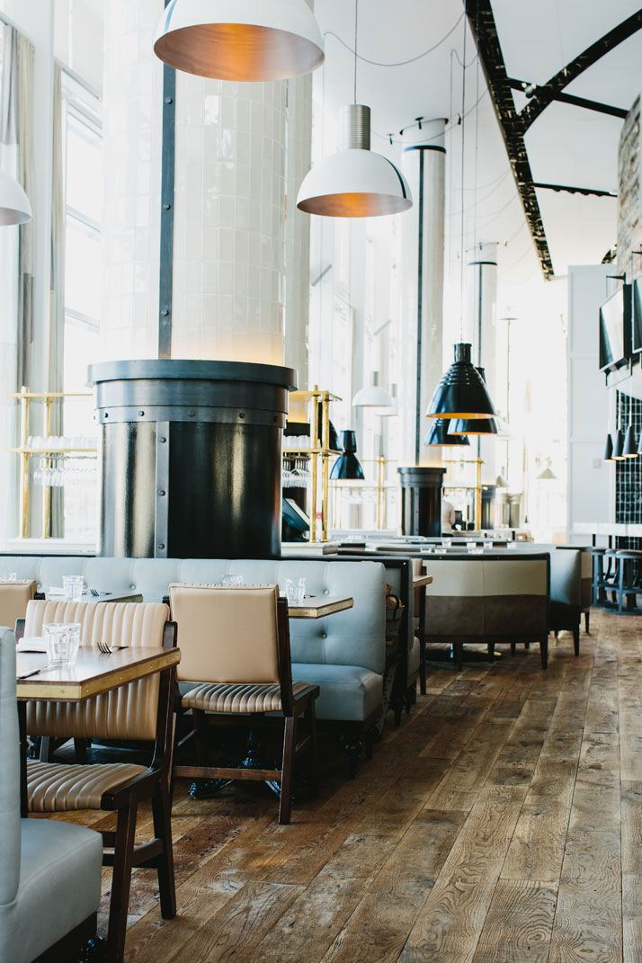 St. Cecilia Bistro in Atlanta, Georgia by Meyer Davis Studio | http://www.yatzer.com/st-cecilia-restaurant-meyer-davis photo  © Andrew Thomas Lee.