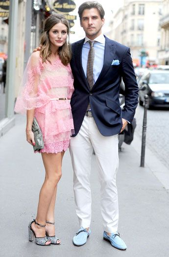 Olivia Palermo is Girly Pink in Valentino