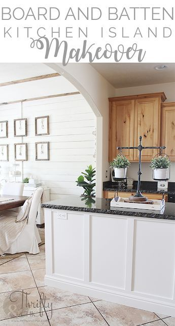 How To Update Your Kitchen Island Diy Two Toned Cabinets White And Wood Cabinet Ideas Knotty Alder