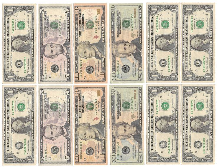 fake money for kids printable sheets play money middle high school