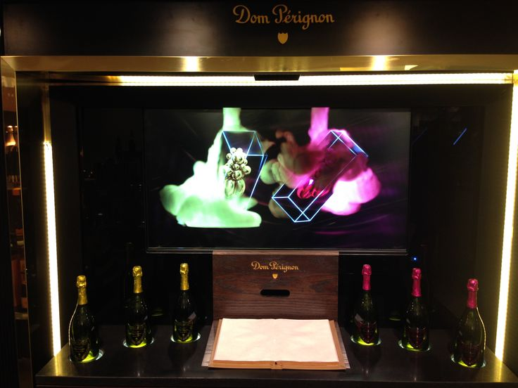 Dom Perignon promotion at Harrods