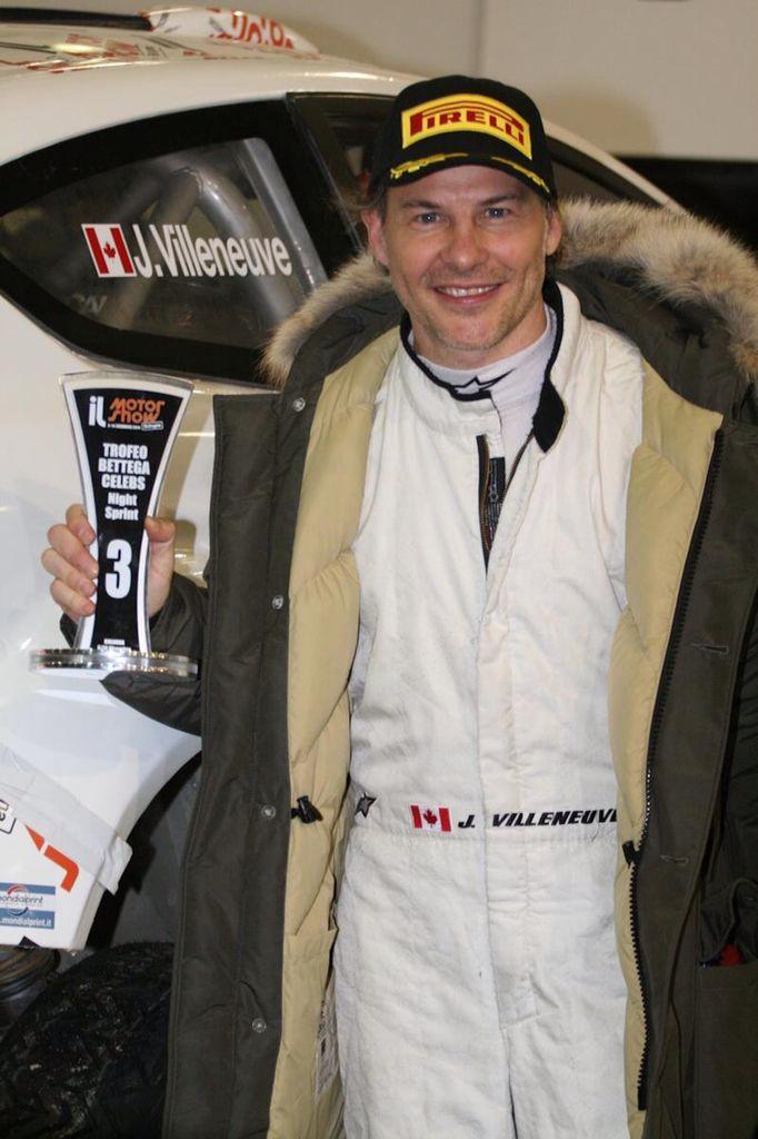 Jacques Villeneuve Motorshow 2014 Bologna (IT)