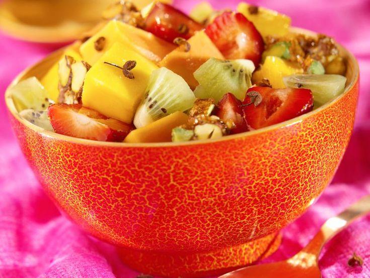 Salade de fruits originale au poivre du Sichuan