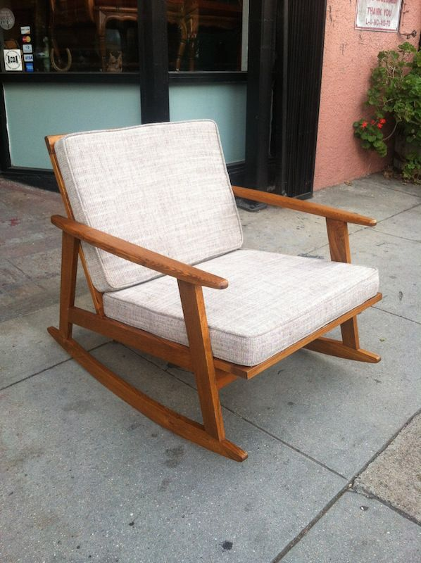 SOLD | Rocking chairs, Mid century and Vintage chairs