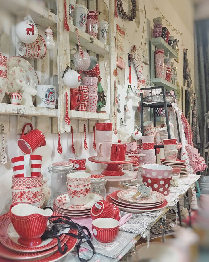 we're ready for Christmas with lovelies Greengate's and Krasilnikoff's Home Sweet Home