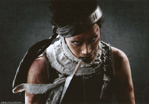 Asahi Uchida as Zabuza Momochi Live Spectacle Naruto - 2016