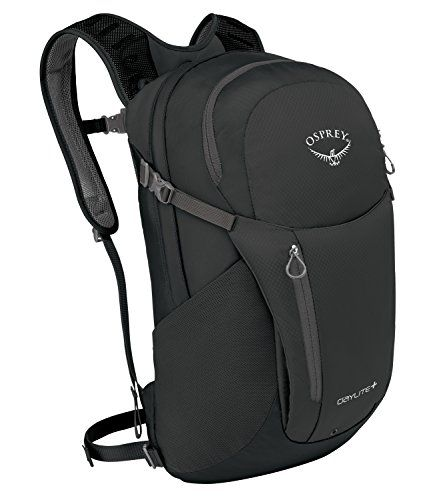 Osprey Packs Daylite Plus Backpack, Black. For product & price info go to:  https://all4hiking.com/products/osprey-packs-daylite-plus-backpack-black/