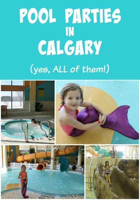 A complete list of every place you can have a pool party in Calgary