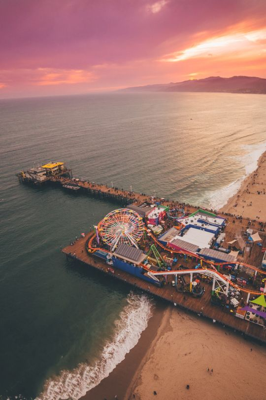 santa monica pier // california