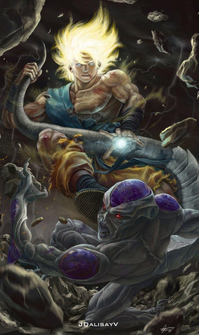 Battle On Namek by JoseDalisayV | Cool | Dragon ball ...