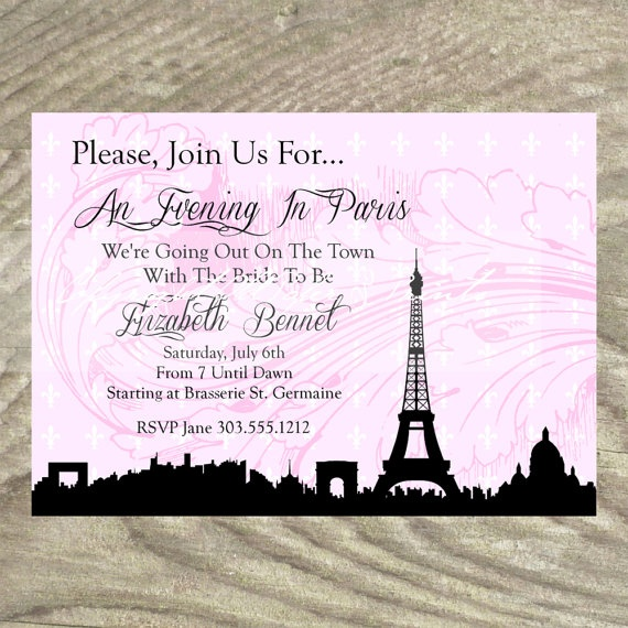 how to write a date in french in invitation
