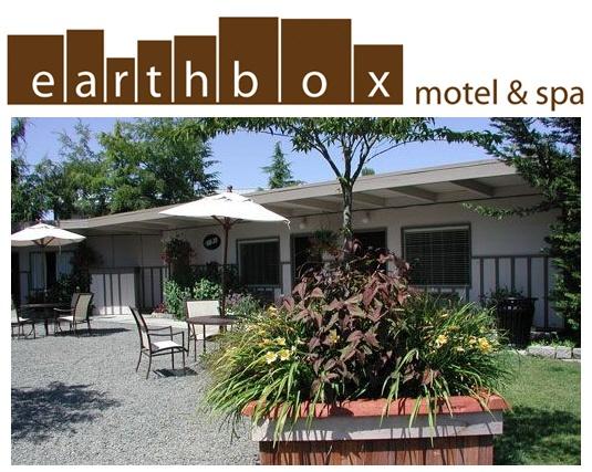 The super fun and groovy Earth Box Motel & Spa Friday Harbor, Washington