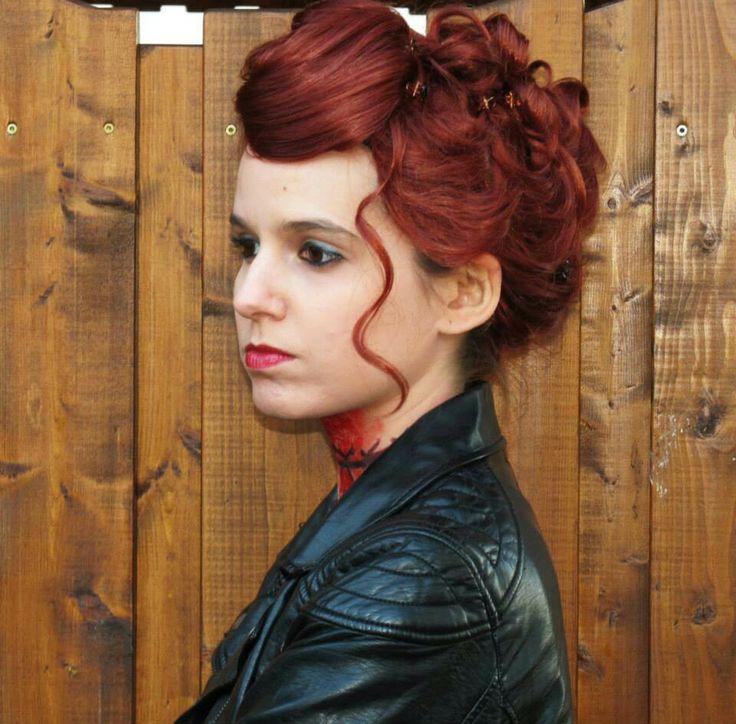 Cosplay: Abaddon, Wig & Basic Makeup - YouTube   Abaddon Supernatural Cosplay