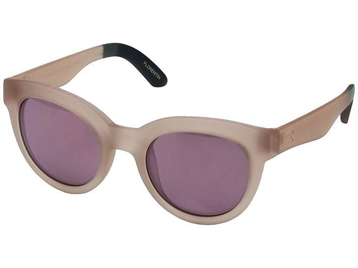 TOMS TRAVELER by TOMS Florentin Fashion Sunglasses Matte Smoke Lilac