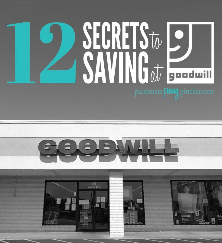 82 best coupons savings money tips images on pinterest money 12 secrets to saving at goodwill fandeluxe Images