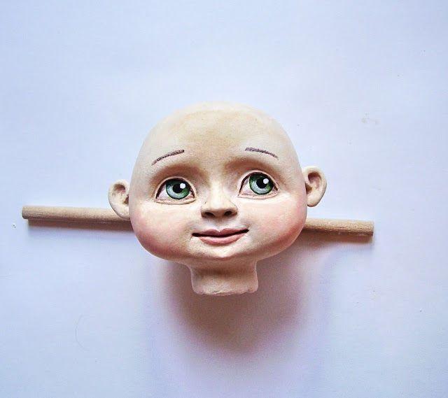 Мастер-класс по созданию куклы ЛЕТИ! Этап первый. Лепка головы.Роспись. Волосы. - Ярмарка Мастеров - ручная работа, handmade