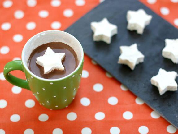 COOL WHIP Marshmallows: Marshmallows Stars, Fun Recipes, Homemade Marshmallows, Cool Whipped, Cookies Cutters, Hot Chocolates, Whipped Marshmallows, Coolwhip Marshmallows, Kid