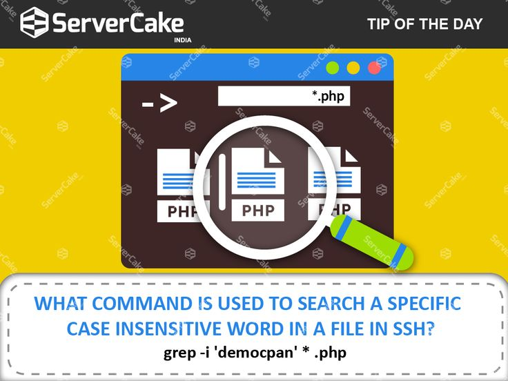 The 'GREP' is a command line search utility or tool to filter the input given to it. The 'Grep' got it's name from ed editor as g/re/p (global / regular expression / print). It can improve a command output by filtering out the required information.  #grep_command #grep_Case_insensitive #SSH_commands  #ServerCake_India