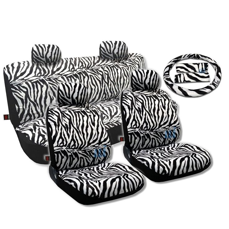 Unique Animal Print Seat Covers Sedan 13pc Front Pair Bench Steering- Mazda 6 (Color)