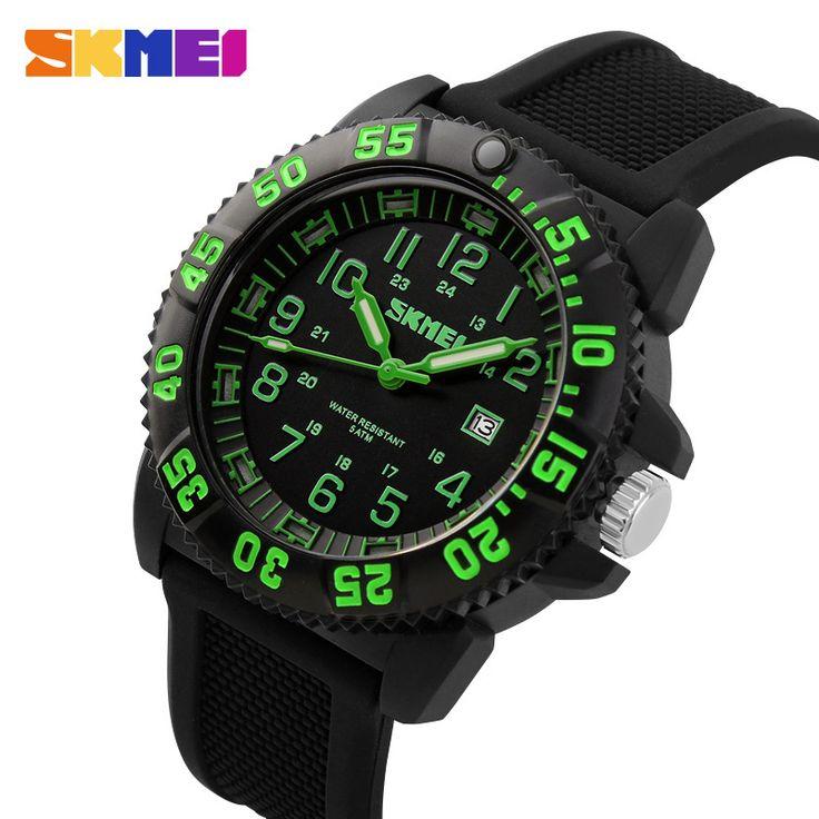 Часы мужчины 2015 роскошные SKMEI марка классические мужские бизнес кварцевые наручные часы бизнес-подарки водонепроницаемый военнослужащих спортивные часы