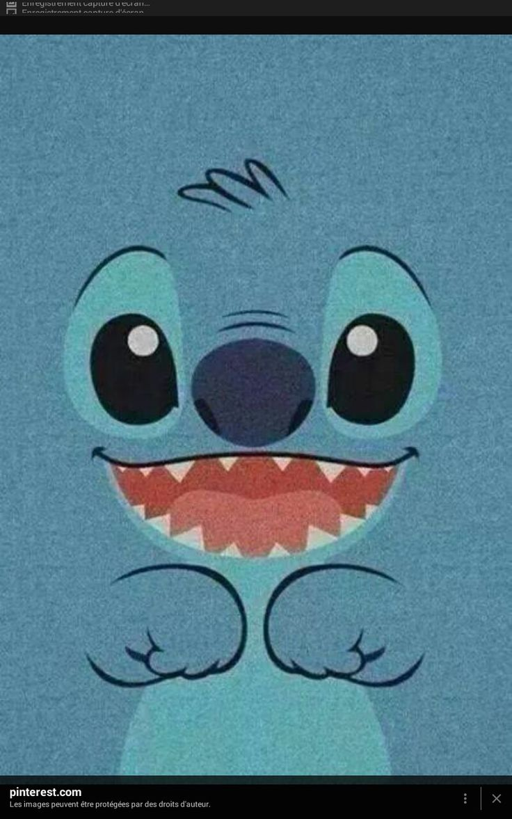 Tumblr iphone wallpaper stitch - Imagen De Stitch Blue And Wallpaper