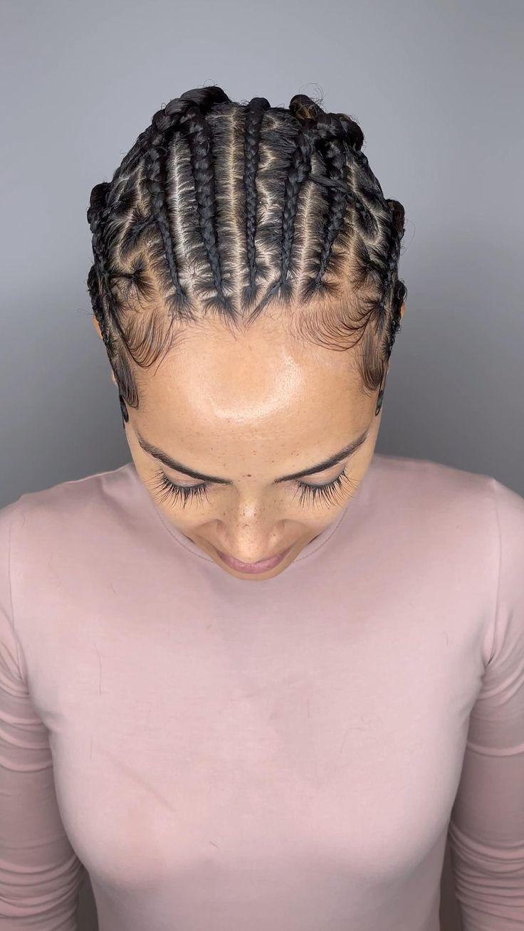 Little Girls Ponytail Hairstyles, Black Prom Hairstyles, Ghana Braids Hairstyles, Lemonade Braids Hairstyles, Braids Hairstyles Pictures, Girl Hairstyles, African American Braided Hairstyles, African American Braids, African Braids